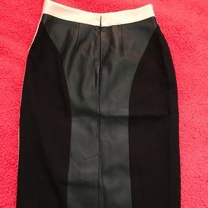 bebe Skirts - New Bebe Pale Pink Pencil Skirt